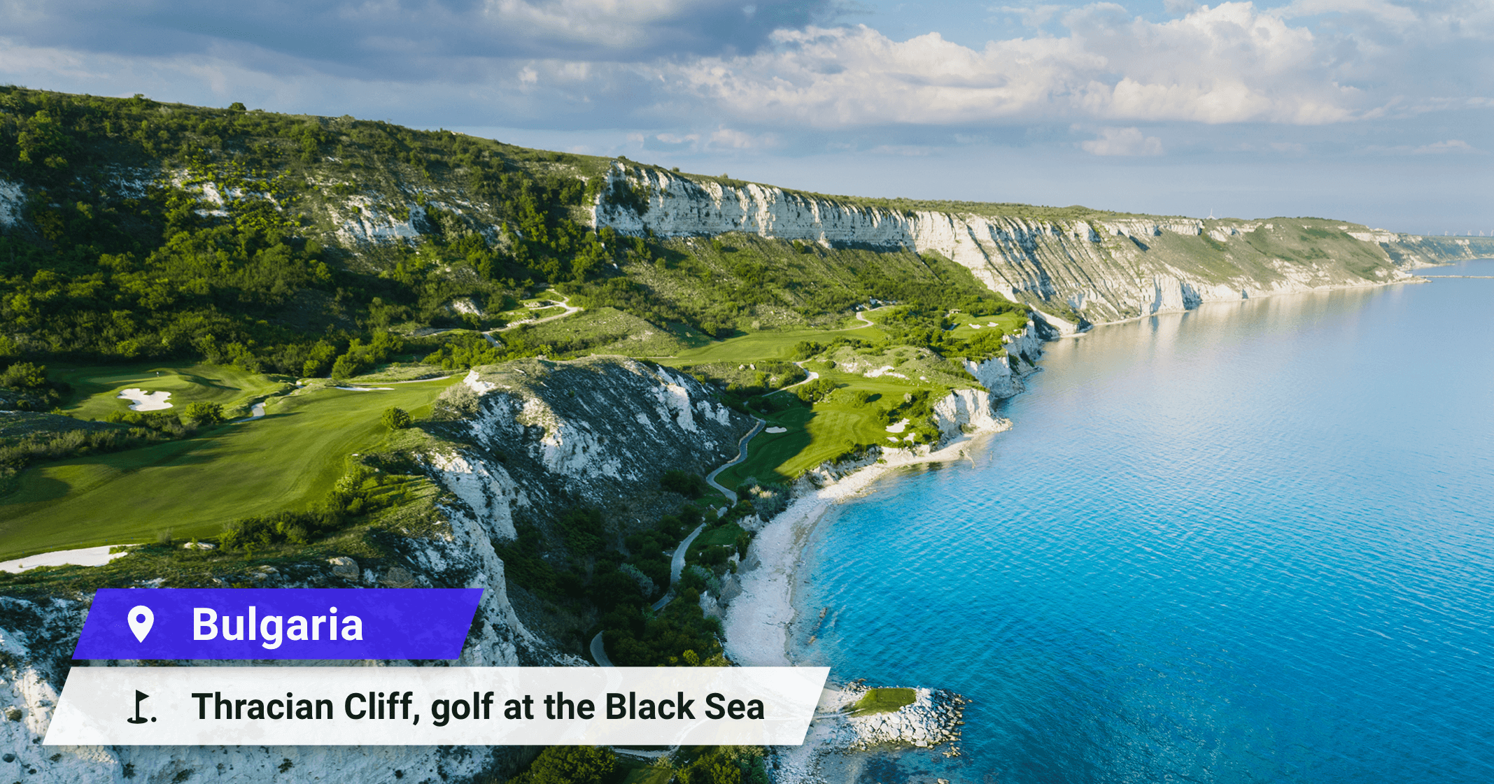 Golf at the Black Sea Bulgaria